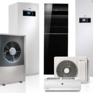 Tepelné čerpadlá IVT vzduch-voda