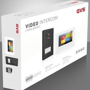 Videovrátniky 2 vodičový systém