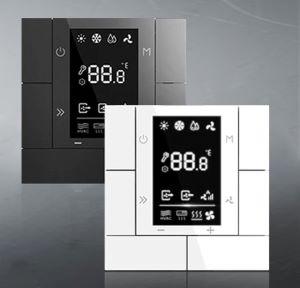 KNX multifunkčné termostaty